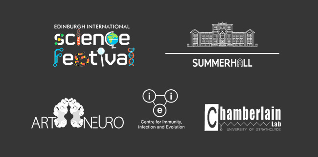 Edinburgh International Science Festival, Summerhall, Art-Neuro, Centre for Immunity, Infection and Evolution, Chamberlain Lab