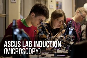 Microscopy Induction @ ASCUS Lab | Scotland | United Kingdom